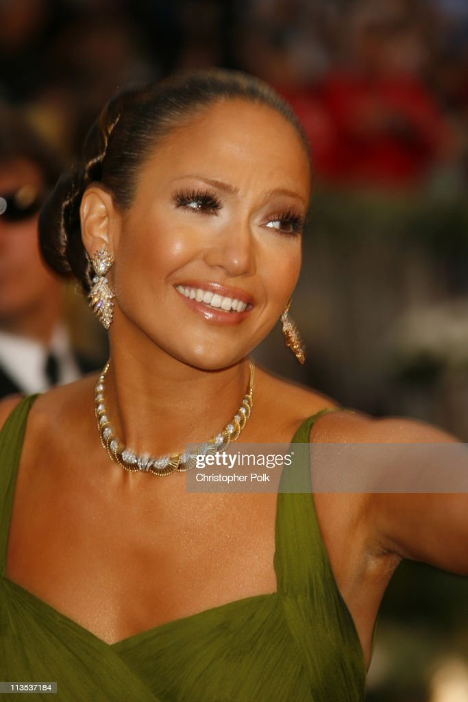 Jennifer Lopez during The 78th Annual Academy Awards – Arrivals at Kodak Theatre in Hollywood, California, United States.