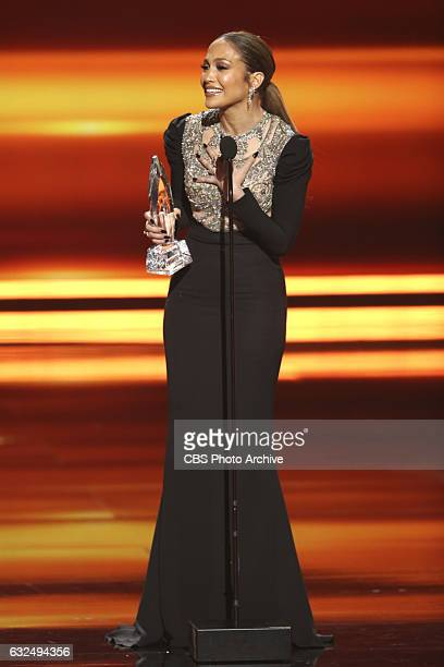 Jennifer Lopez, during the PEOPLE'S CHOICE AWARDS 2017, the only major awards show where fans determine the nominees and winners across categories of...