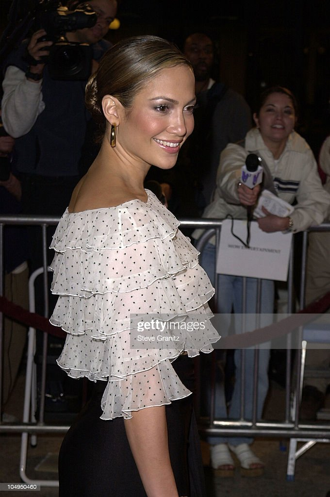 Jennifer Lopez During The Wedding Planner Los Angeles Premiere At Loews Century Plaza In