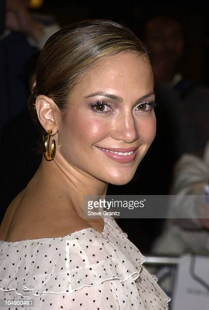 Jennifer Lopez during The Wedding Planner Los Angeles Premiere at Loews Century Plaza in Century City California United States