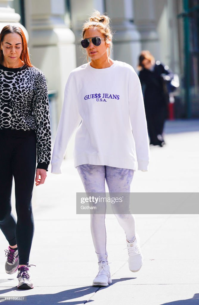 NY: Celebrity Sightings In New York City - March 20, 2019