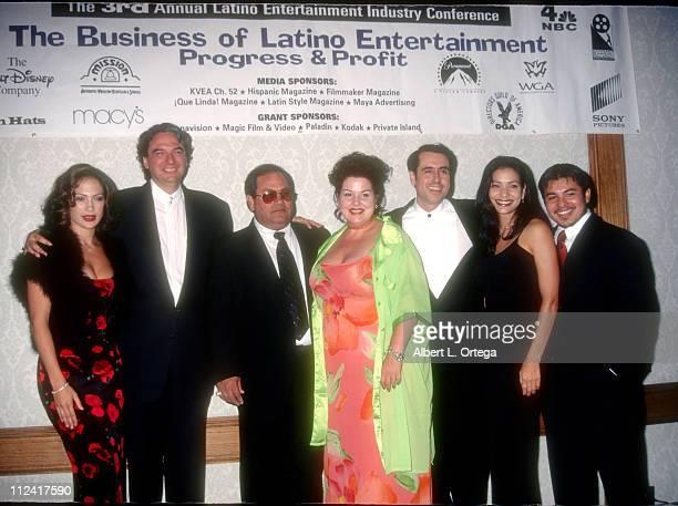 Jennifer Lopez Gregory Nava Abrahan Quintanilla Jackie Guerra Cris Franco Constance Marie and Jacob Vargas