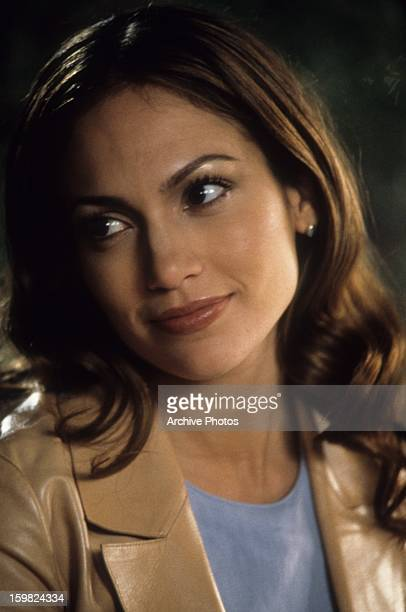 Jennifer Lopez in a scene from the film 'The Wedding Planner' 2001
