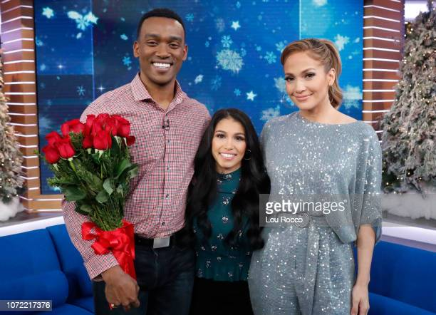 AMERICA Jennifer Lopez is a guest on 'Good Morning America' on Wednesday December 12 airing on the ABC RAMSEY