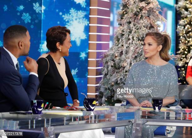 AMERICA Jennifer Lopez is a guest on 'Good Morning America' on Wednesday December 12 airing on the ABC MICHAEL