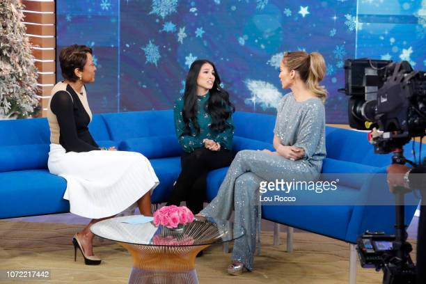 AMERICA Jennifer Lopez is a guest on 'Good Morning America' on Wednesday December 12 airing on the ABC ROBIN