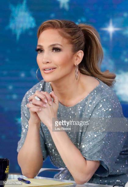 AMERICA Jennifer Lopez is a guest on 'Good Morning America' on Wednesday December 12 airing on the ABC JENNIFER