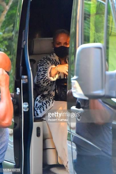 Jennifer Lopez is seen in Manhattan on September 8 2020 in New York City
