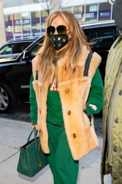 NY: Celebrity Sightings In New York City - December 28, 2020