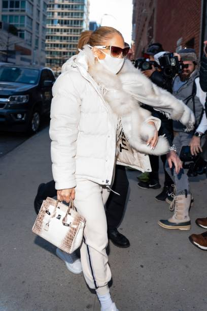 NY: Celebrity Sightings In New York City - December 29, 2020