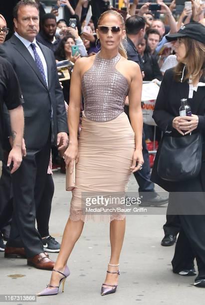 Jennifer Lopez is seen on September 10, 2019 in New York City.