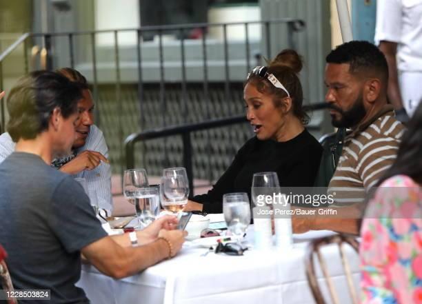 Jennifer Lopez is seen on September 13 2020 in New York City