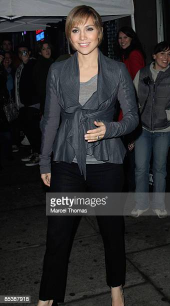 Jennifer Lopez is seen on the streets of Manhattan on March 11 2009 in New York City