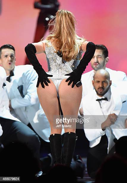 Jennifer Lopez performs at Fashion Rocks 2014 at the Barclays center on September 9 2014 in New York United States