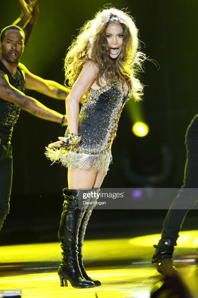 Jennifer Lopez performs at the World Music Awards 2010 held at the Sporting Club Monte-Carlo on May 18, 2010 in Monte-Carlo, Monaco.
