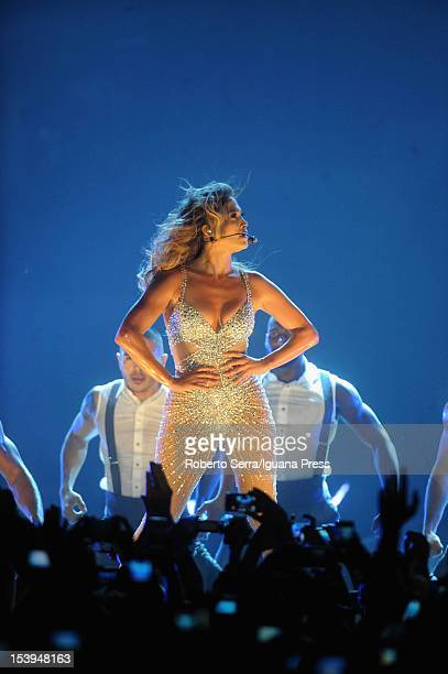Jennifer Lopez performs at Unipol Arena on October 11 2012 in Bologna Italy