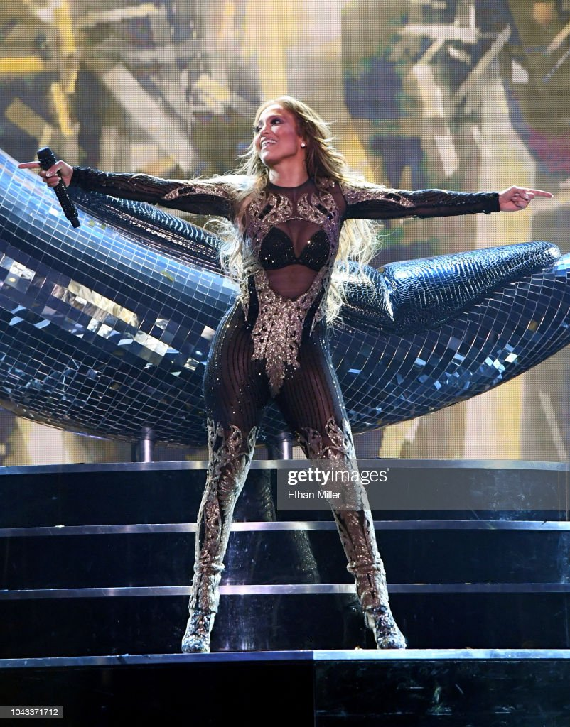 'JENNIFER LOPEZ: All I HAVE' Finale At Zappos Theater At Planet Hollywood Resort & Casino