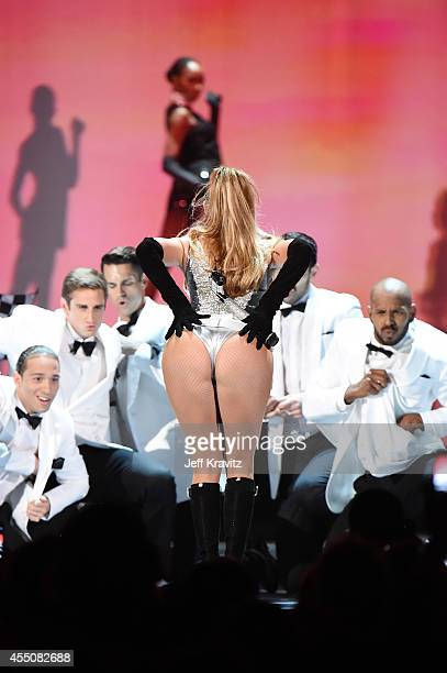 Jennifer Lopez performs onstage at Fashion Rocks 2014 at the Barclays center on September 9 2014 in New York United States