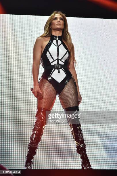 Jennifer Lopez performs onstage at the 2019 iHeartRadio Fiesta Latina at AmericanAirlines Arena on November 2 2019 in Miami Florida