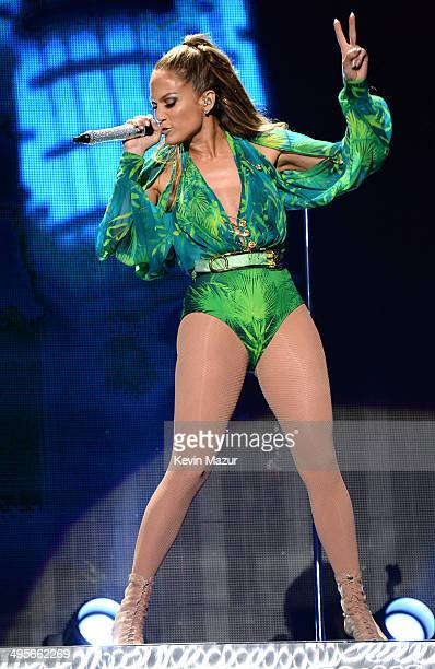 Jennifer Lopez performs onstage during her first ever hometown concert to launch State Farm Neighborhood Sessions on June 4 2014 in Bronx New York