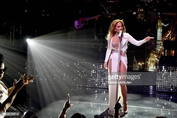 Jennifer Lopez performs onstage during the 2018 TIME 100 Gala at Jazz at Lincoln Center on April 24 2018 in New York City