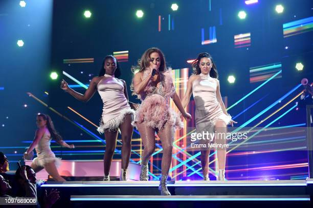 Jennifer Lopez performs onstage during the 61st Annual GRAMMY Awards at Staples Center on February 10 2019 in Los Angeles California