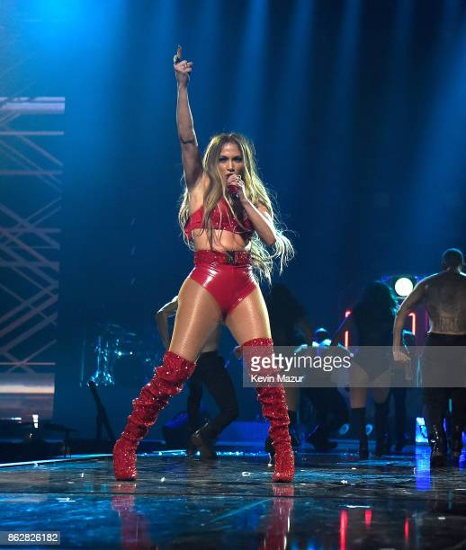 Jennifer Lopez performs onstage during TIDAL X Brooklyn at Barclays Center of Brooklyn on October 17 2017 in New York City