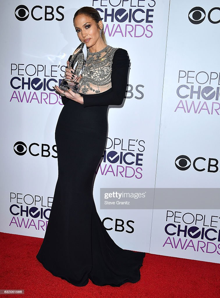 People's Choice Awards 2017 - Press Room : News Photo