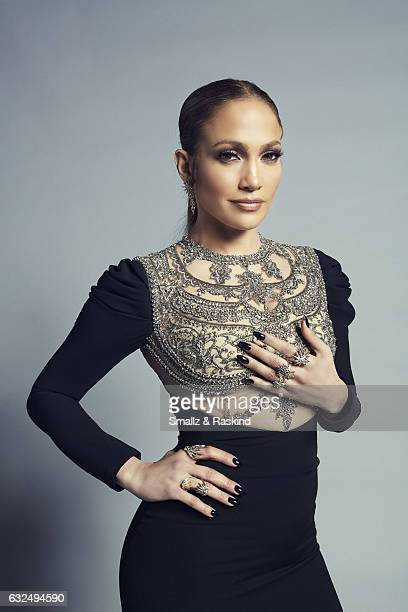 Jennifer Lopez poses for a portrait at the 2017 People's Choice Awards at the Microsoft Theater on January 18 2017 in Los Angeles California