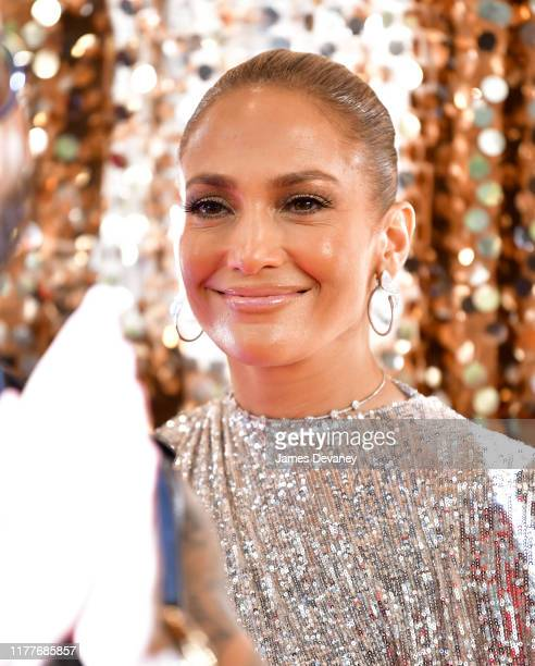 Jennifer Lopez seen filming on location for 'Marry Me' at the Manhattan Center on October 22 2019 in New York City
