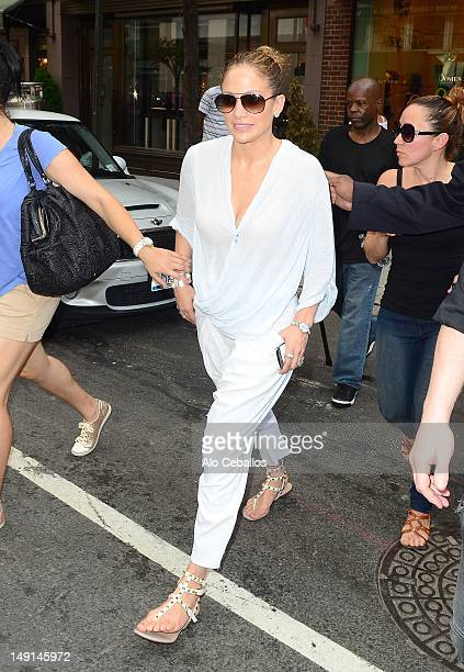 Jennifer Lopez sighting on July 23 2012 in New York City