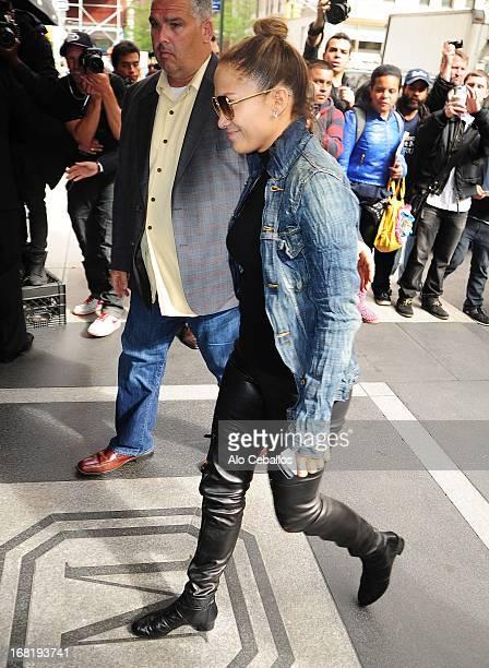 Jennifer Lopez sighting on May 6 2013 in New York City