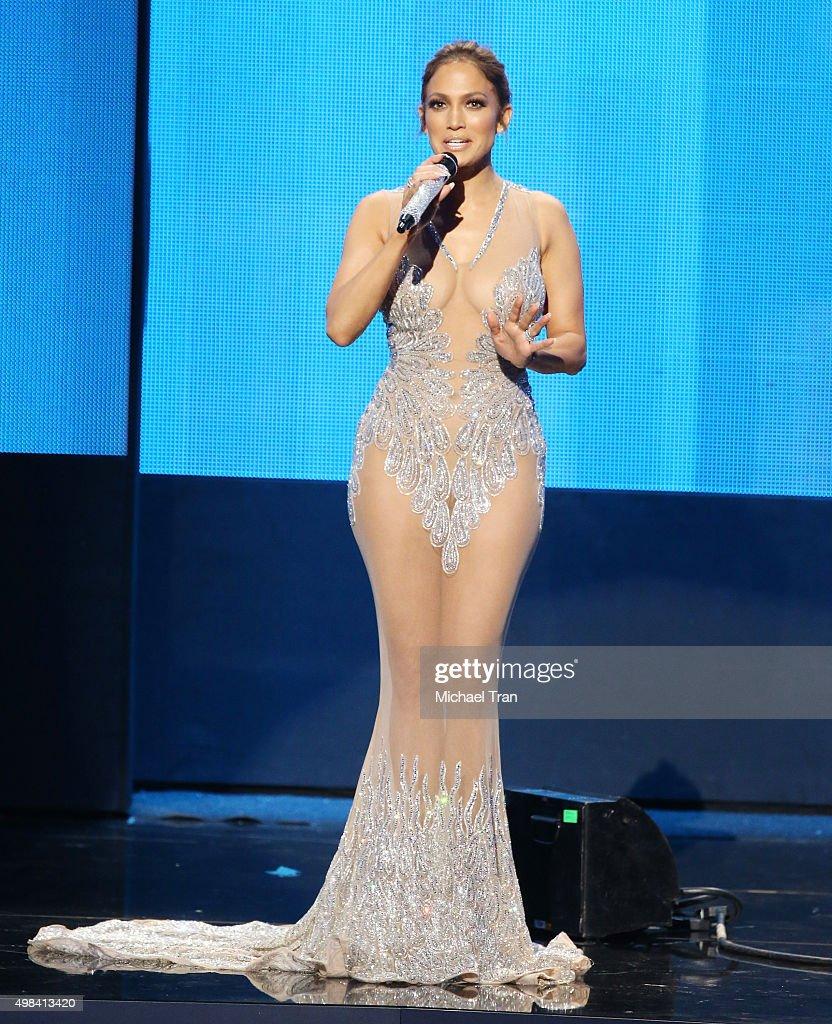 2015 American Music Awards - Show : News Photo