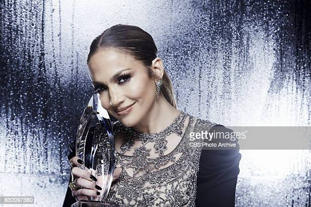 Jennifer Lopez visits the CBS Photo Booth during the PEOPLE'S CHOICE AWARDS, the only major awards show where fans determine the nominees and winners...