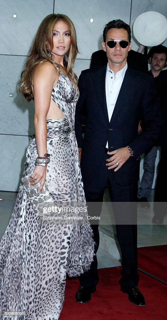 Jennifer Lopez with her husband Marc Anthony attends the 'World Music Awards 2010 - show' at the Sporting Club on May 18, 2010 in Monte Carlo, Monaco.