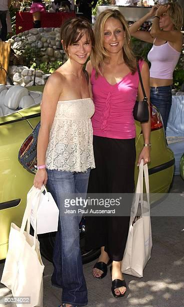Jennifer Love Hewitt and 2003 Saab 93 from Saab Santa Monica Photo by JeanPaul Aussenard/WireImage for Silver Spoon