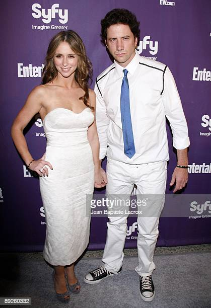 Jennifer Love Hewitt and Jamie Kennedy attend Entertainment Weekly's Syfy Party during Comic-Con 2009 held at Hotel Solamar on July 25, 2009 in San...