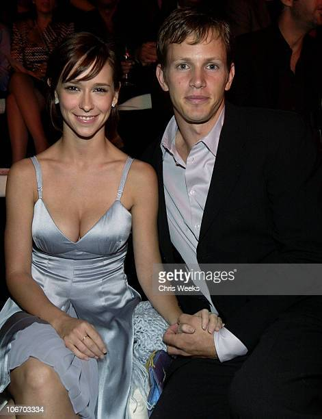 Jennifer Love Hewitt and Kip Pardue during Giorgio Armani Receives The First Rodeo Drive Walk Of Style Award at Rodeo Drive Walk Of Style in Beverly...