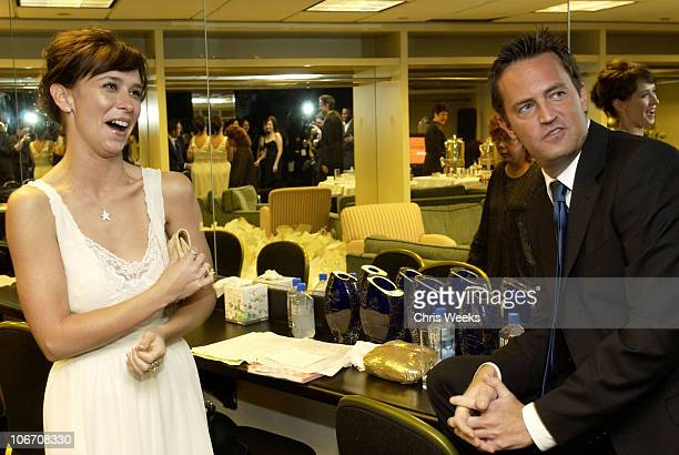 Jennifer Love Hewitt and Matthew Perry *Exclusive*