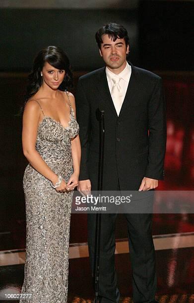 Jennifer Love Hewitt and Ron Livingston presenters