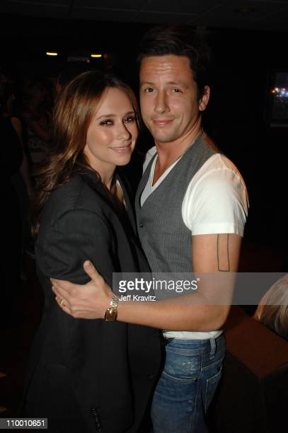 Jennifer Love Hewitt and Ross McCall during the 2007 Spike TV Scream Awards at The Greek Theater on October 19, 2007 in Los Angeles, California.