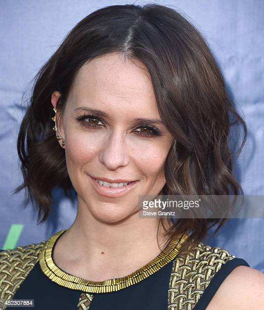 Jennifer Love Hewitt arrives at the 2014 Television Critics Association Summer Press Tour CBS CW And Showtime Party at Pacific Design Center on July...