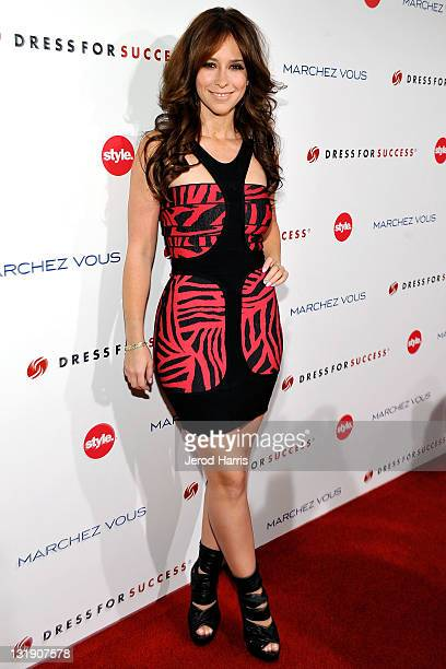 Jennifer Love Hewitt arrives at the 3rd Annual Give Get Fete benefiting Dress For Success WorldwideWest at The London on November 7 2011 in West...