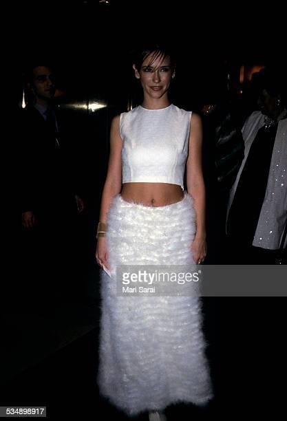 Jennifer Love Hewitt at Metropolitan Museum of Art Costume Institute Gala New York December 6 1999