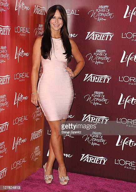 Jennifer Love Hewitt attends 3rd Annual Variety's Power Of Women Event Presented By Lifetimeon September 23 2011 in Beverly Hills United States