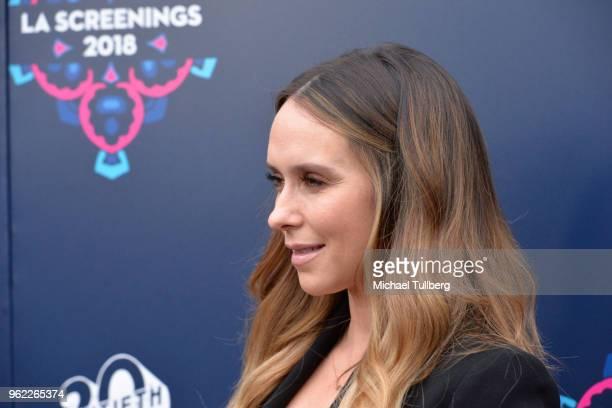 Jennifer Love Hewitt attends the 20th Century Fox 2018 LA Screenings Gala at Fox Studio Lot on May 24 2018 in Century City California
