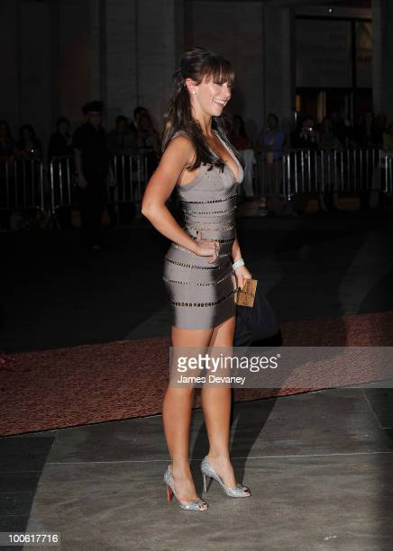 Jennifer Love Hewitt attends the Sex and the City 2 premiere after party at Lincoln Center for the Performing Arts on May 24 2010 in New York City