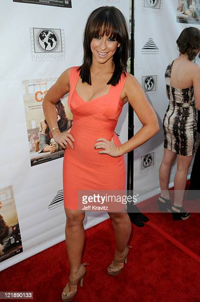 Jennifer Love Hewitt attendsthe Los Angeles premiere Of 'Cafe' at Laemmle Sunset 5 Theatre on August 18 2011 in West Hollywood California