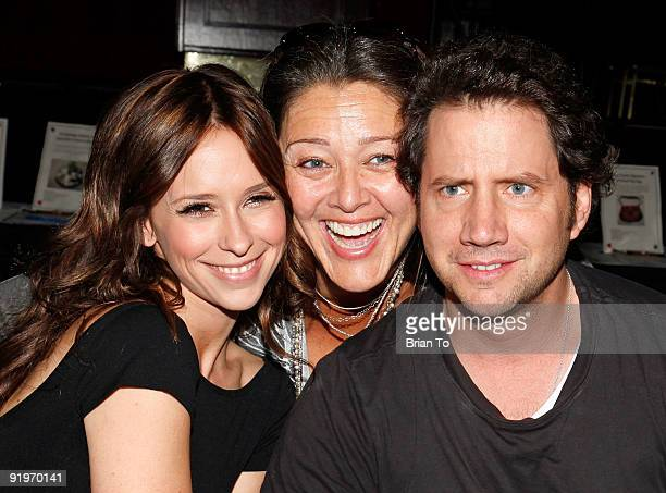 Jennifer Love Hewitt Camryn Manheim and Jamie Kennedy attend Children's Institute Hosts 'Poker For A Cause' Celebrity Poker Tournament at Commerce...