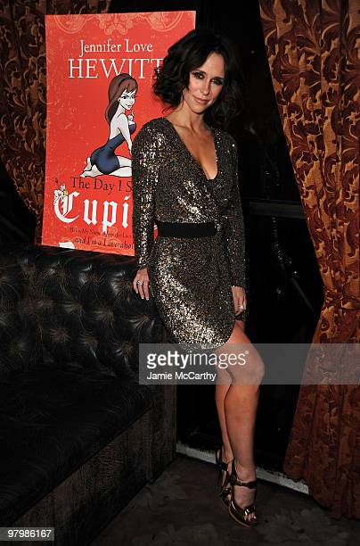 *EXCLUSIVE* Jennifer Love Hewitt celebrates the launch of her first book 'The Day I Shot Cupid' at Avenue on March 23 2010 in New York City